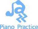 ジャズピアノの練習方法を追求するブログ、Jazz Piano Practiceのロゴマーク