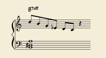 ロクリアン#2スケールは、短3度上のメロディックマイナースケール